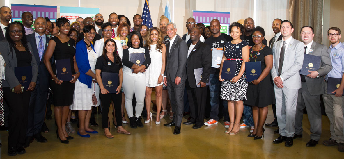 The Neighborhood Opportunity Fund Class of 2017 grant recipients