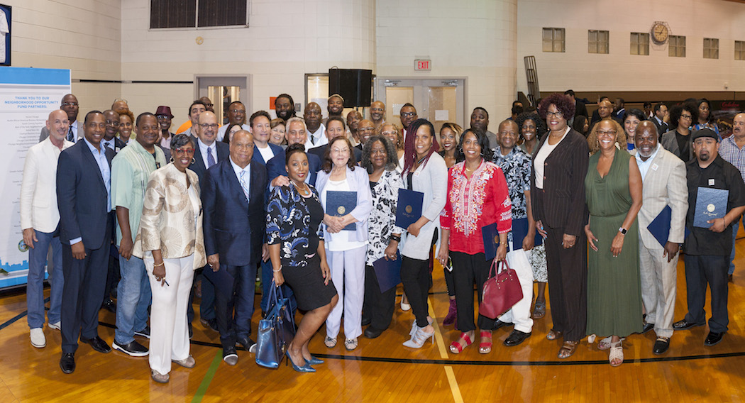 The Neighborhood Opportunity Fund Class of 2018 (Summer) grant recipients